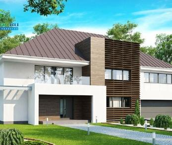 Проект дома Проект zx20, 492.3 м2