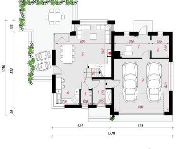 Проект  Дом под личи (Г2), 172.3 м2