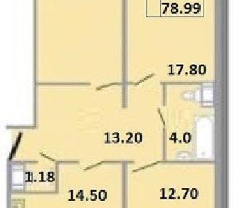 Продажа квартиры Сертолово г., Ларина ул, д. 18
