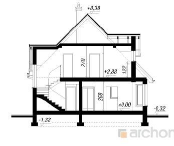 Проект  Дом в медунице, 126.4 м2