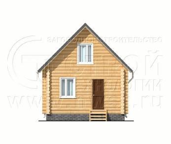 Проект дома Проект дома №31 Заходское, 54 м2