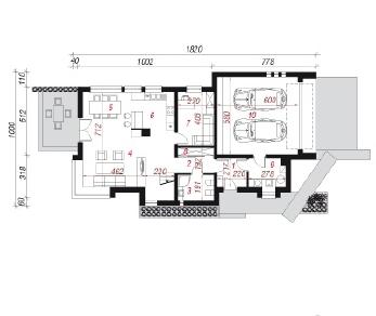 Проект  Дом в карри, 198.6 м2