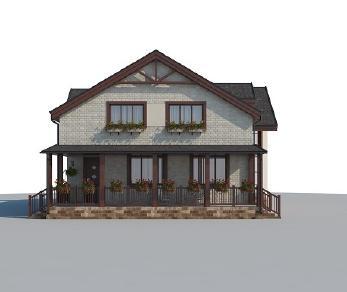 Проект дома AS-2131, 191 м2