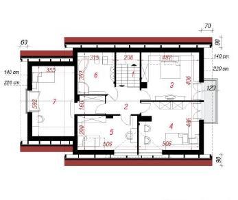 Проект  Дом в клеверках 2 (Г), 175 м2