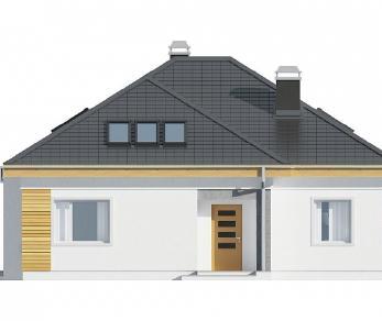 Проект дома Проект Z54, 179.3 м2