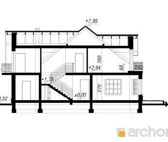 Проект  Дом в дуброве 2 (Г2), 222 м2