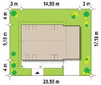 Проект дома Проект Z36, 186.4 м2