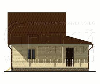 Проект дома Проект дома №44, 81 м2