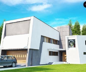 Проект дома Проект Zx27, 345 м2