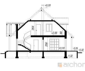 Проект  Дом в ландышах, 166.7 м2
