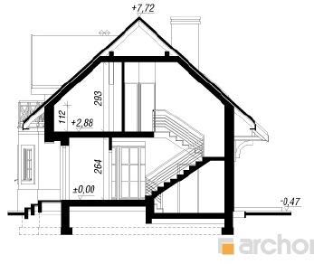 Проект  Дом в ананасах (Г2), 161.5 м2