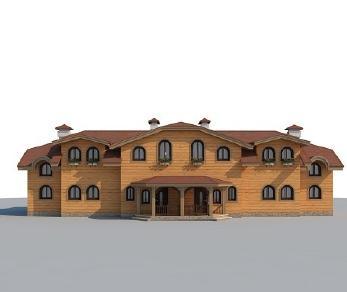 Проект дома AS-2239, 223 м2