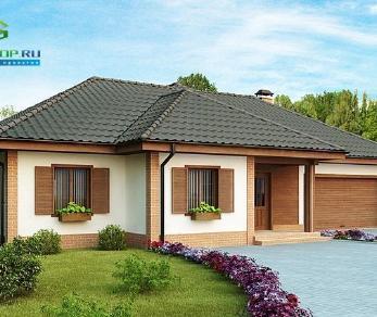 Проект дома Проект z17, 201.6 м2