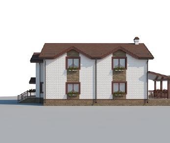 Проект дома AS-2230, 269 м2