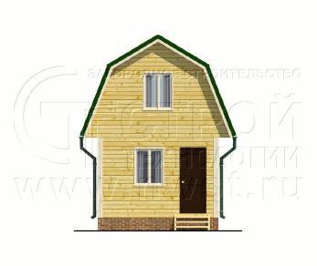 Проект дома Проект дома №50, 24 м2