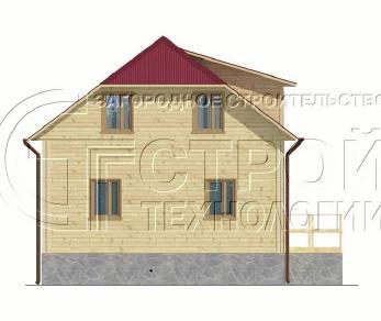 Проект дома Проект дома №9, 52.5 м2