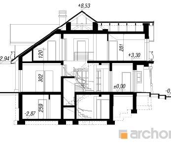 Проект  Дом в персимоне, 645 м2