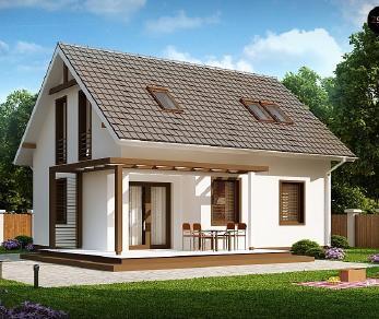 Проект дома Проект Z212, 91.8 м2