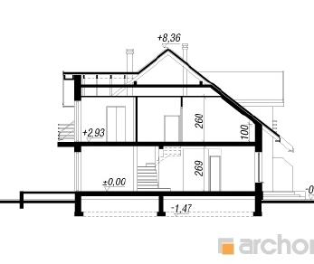 Проект  Дом в ревене (С), 161.6 м2