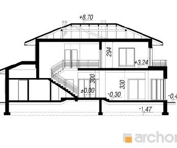Проект  Вилла Виктория, 242.5 м2
