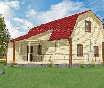 Проект дома Проект дома №5, 54 м2