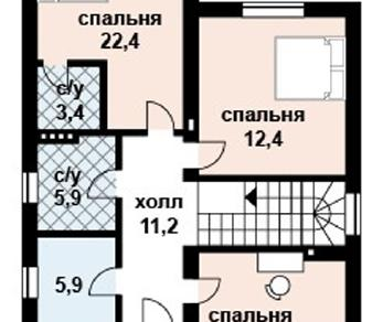 Проект дома AS-2038, 187 м2