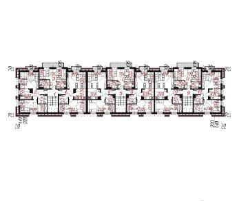 Проект  Дом у бульвара 8, 2552.2 м2
