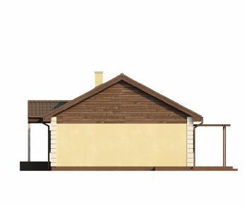Проект дома Проект Z8, 98.6 м2
