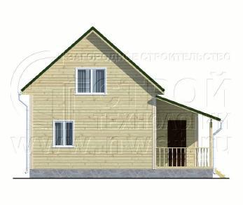 Проект дома Проект дома №46, 50 м2