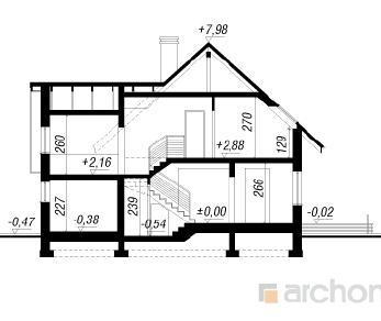 Проект  Дом в олеандрах 3, 131 м2