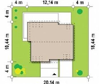 Проект дома Проект Z147, 180.9 м2