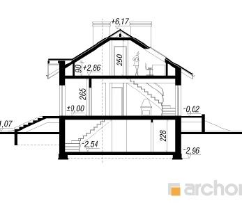 Проект  Дом в ежевике (ПД), 192.3 м2