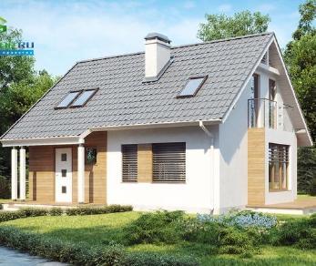 Проект дома Проект z101, 120.9 м2