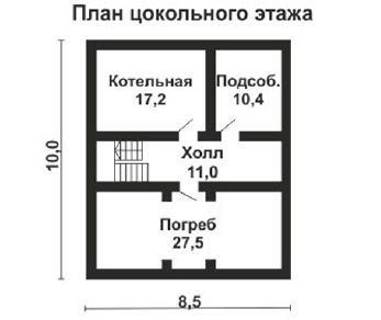 Проект дома AS-2166, 222 м2