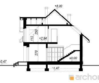 Проект  Дом в люцерне 2, 132.2 м2
