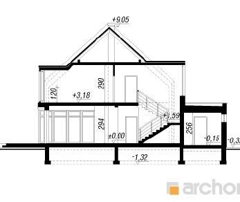 Проект  Дом в куркуме, 196 м2