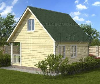 Проект дома Проект дома №64, 36 м2
