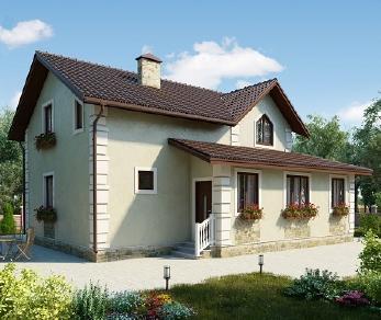Проект дома AS-2150-2, 148 м2