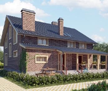 Проект дома AS-2113-2, 319 м2