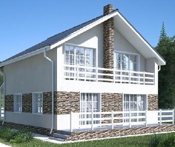 Проект дома AS-2030, 155 м2