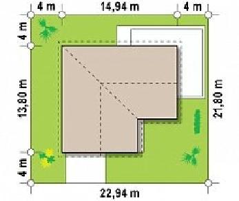 Проект дома Проект Z208, 153 м2