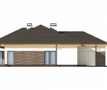 Проект дома Проект Z96, 165.1 м2