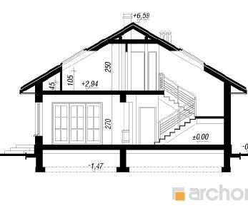 Проект  Дом в имбири (ПД), 170.6 м2