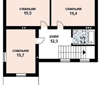 Проект дома AS-2031, 161 м2
