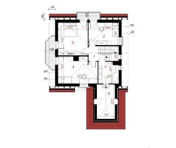 Проект  Дом в рододендронах 12 (П), 200.3 м2