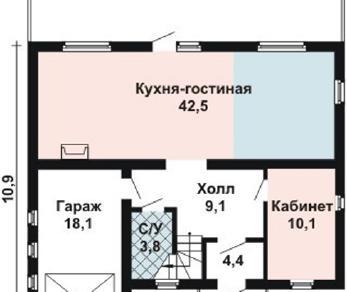 Проект дома AS-2083, 178 м2