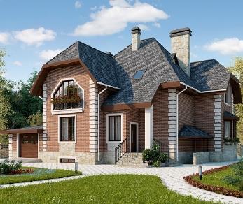 Проект дома AS-2173-2, 338 м2