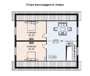 Проект дома AS-2007, 275 м2