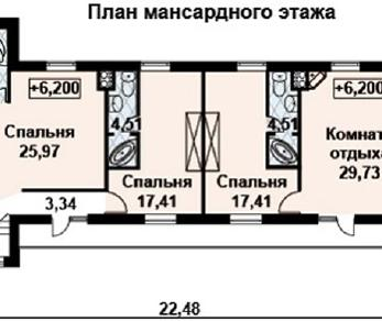 Проект дома AS-2105, 404 м2