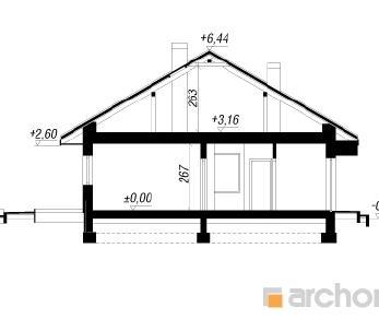 Проект  Дом под красной рябиной 8 (Н), 111.48 м2